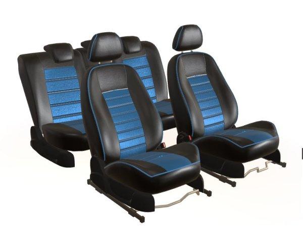Sitzbezug schwarz/blau Ford Fiesta VIII (2013-2017)