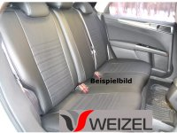 Sitzbezug schwarz/grau Ford Mondeo V (Ambiente, BJ 2014+)