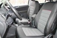 Sitzbezug schwarz VW Tiguan I (BJ 2007-2016) betischt
