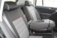 Sitzbezug schwarz VW Tiguan I (BJ 2007-2016) ohne Tische