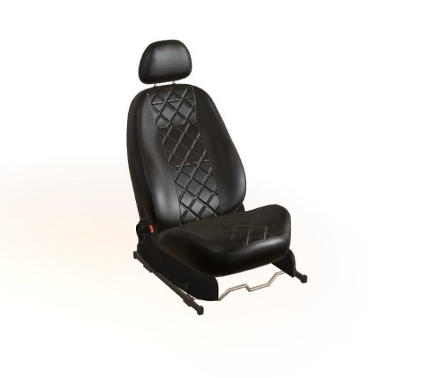 Sitzbezug schwarz MOD4 Mazda 6 (3. Gen. BJ2012)