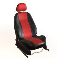 Sitzbezug schwarz/rot Mazda 3 Fließheck (BM,...