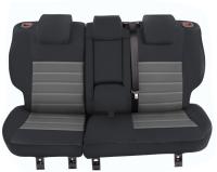Sitzbezug Mazda CX-5 FL (BJ 20115-2017, 40/20/40) - MOD3 schwarz/grau