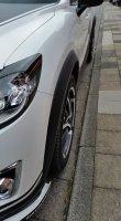 Radlaufverbreiterung für Mazda CX-5 (BJ 2012-2017) - 4. Satz, roh