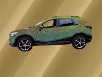 Dachreling schwarz Mazda CX-5 II ab BJ 2017