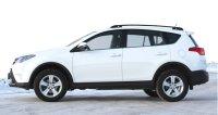 Dachreling silber/schwarz – Toyota RAV 4 (Gen. IV, BJ 2013+)